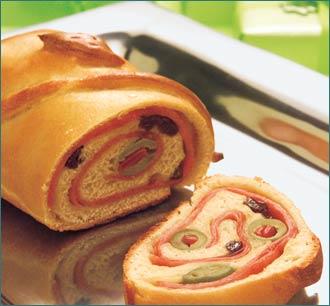 Recetas navideñas: pan de jamón 5