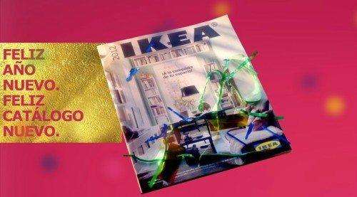 Feliz año nuevo feliz catálogo nuevo Ikea 2012