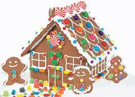 Dulces navideños: casa de jengibre 9
