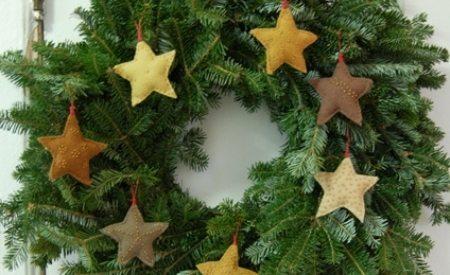 Decora tu Árbol Navideño con Estrellas de fieltro 3