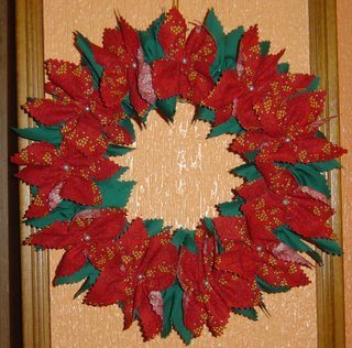Decora tu puerta con coronas navideñas 10