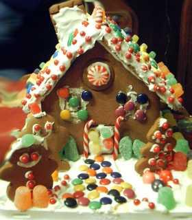 Dulces navideños: casa de jengibre 7