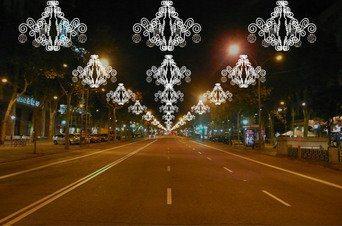 luces paseo de gracia