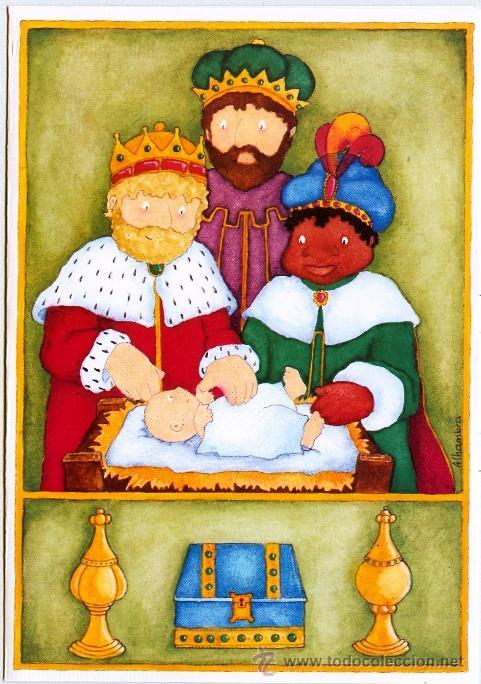 Postales Navidad. Los Reyes Magos ya están aquí! 10