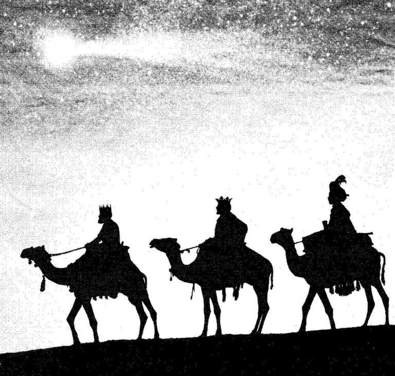 Postales Navidad. Los Reyes Magos ya están aquí!