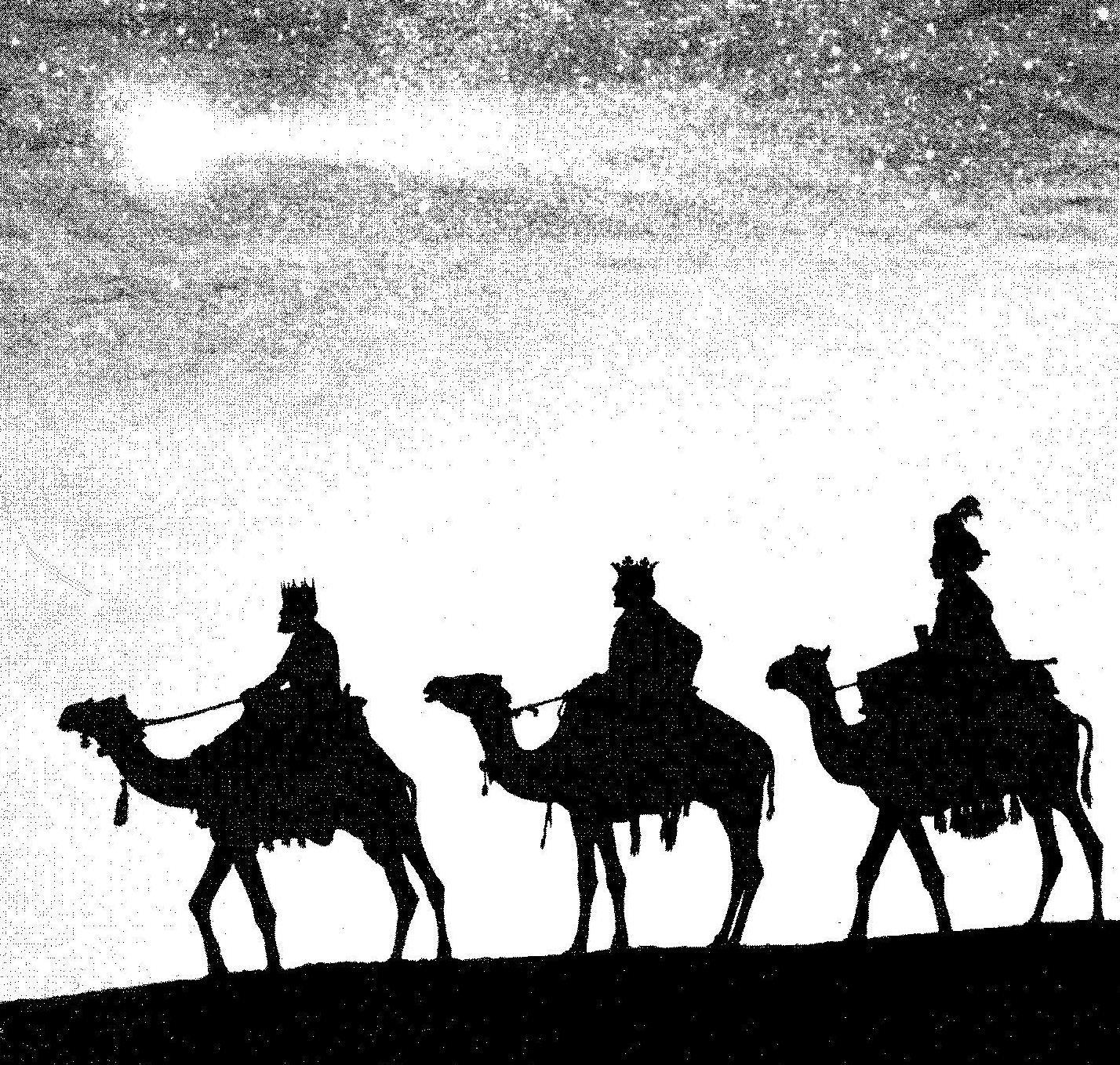 Postales Navidad. Los Reyes Magos ya están aquí! 12
