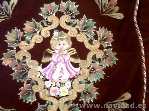adorno ángel de Navidad