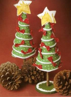 Rbol navidad estilo country navidad for Manualidades souvenirs navidenos