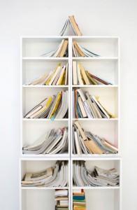 árbol con libros