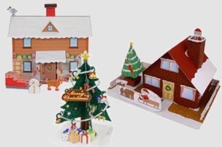 Manualidades para navidad papercraft navidad - Decoraciones de navidad para ninos ...