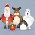 Imágenes vectorizadas para crear tus felicitaciones navideñas 5