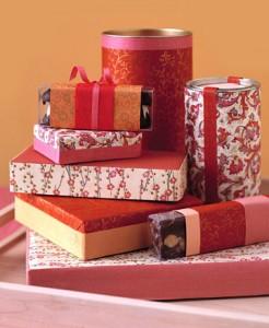 latas para envolver tus regalos de Navidad