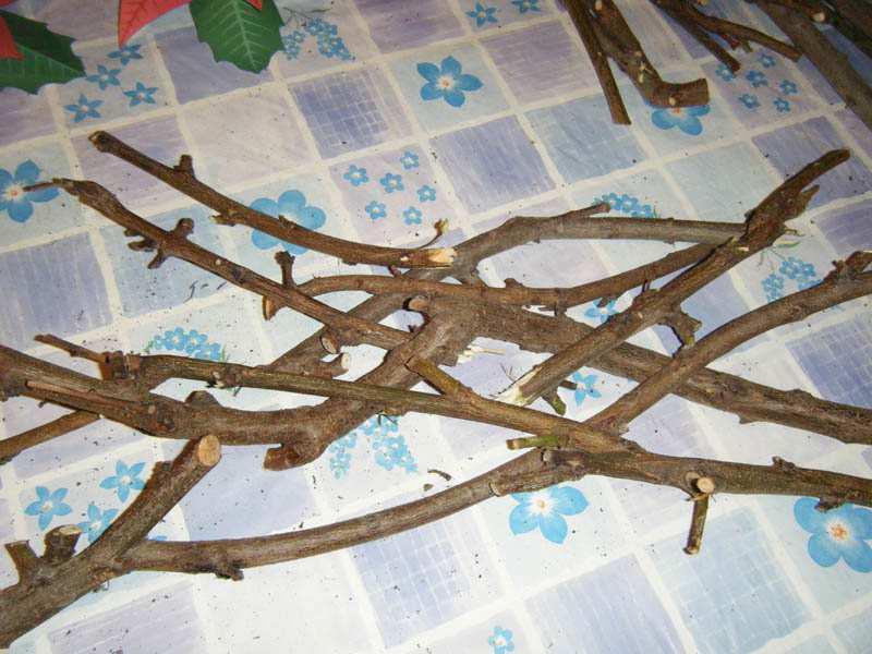 Ramas madera navidad - Arbol de navidad con ramas ...