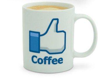 taza me gusta el café facebook