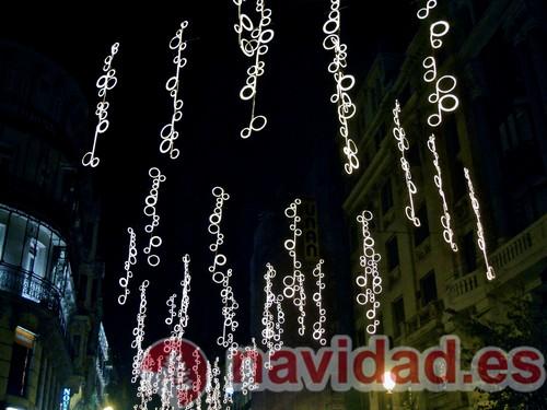 Decoración navideña 2011 Madrid
