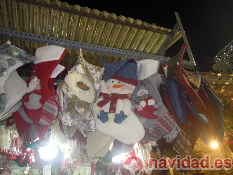 árboles con luces de Navidad en Barcelona
