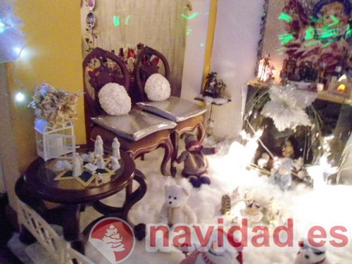 Baño decorado Navidad 2011