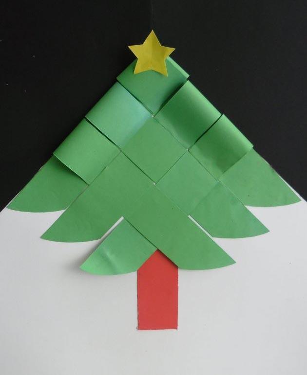 Decorar Arbol Navidad En Papel.Arma Tu Propio Arbol De Navidad Navidad Tu Revista Navidena