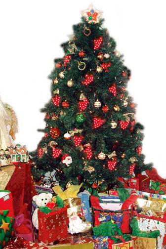 Arboles De Navidad Decorados Fotos Decoracin Del Hogar Prosalocom