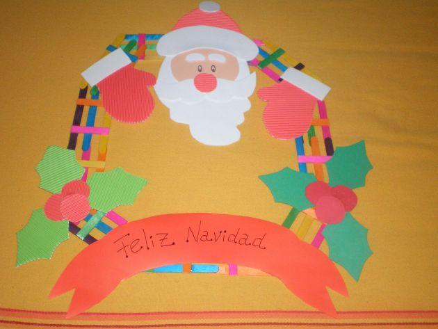 Navidad. Corona Infantil 5