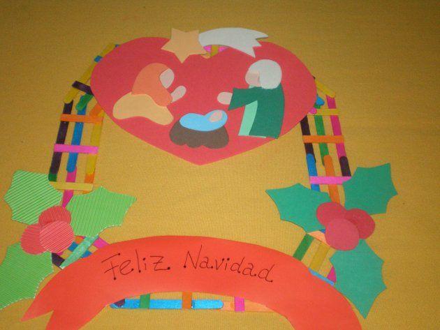 Navidad. Corona Infantil 6