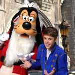 Justin Bieber visita DisneyWorld por navidad 1