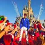 Justin Bieber visita DisneyWorld por navidad 4