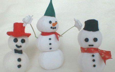 Decora con Muñecos de Nieve 7