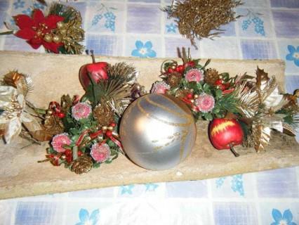 paso 1 centro navidad con teja