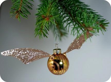 Snitch árbol de Navidad
