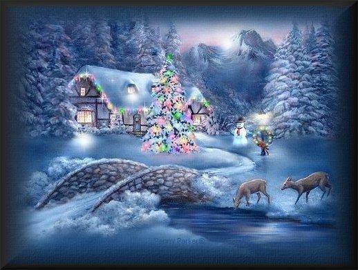 paisaje navidad