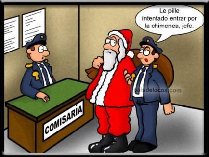 Imágenes graciosas de Papá Noel 6