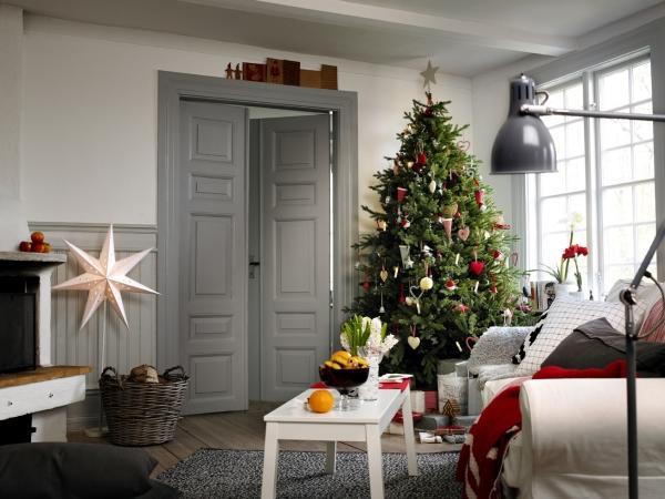 Árbol de Navidad Ikea 2012