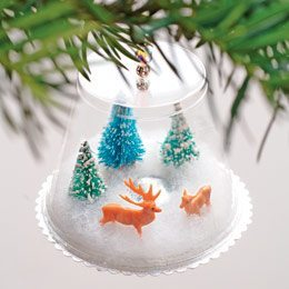 Navidad Bolas De Nieve Navidad Tu Revista Navidena - Arbol-de-navidad-con-vasos-de-plastico
