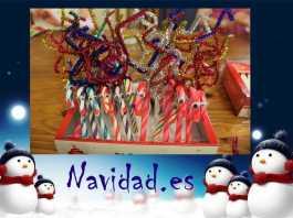 dulces navideños decorados