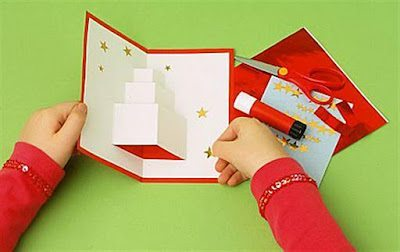 Hacer una tarjeta navide a navidad - Como hacer una tarjeta de navidad original ...