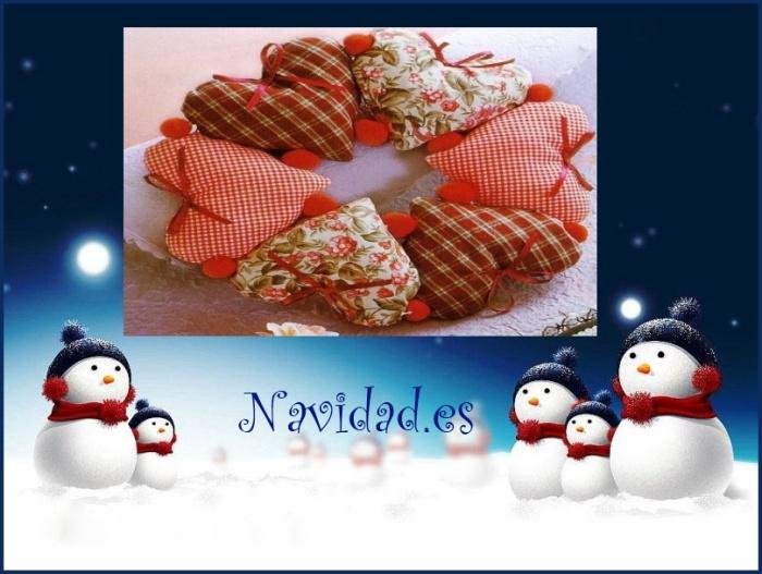 manualidad navideña