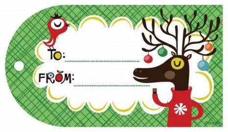 Añade Etiqueta a tus Regalos navideños 3