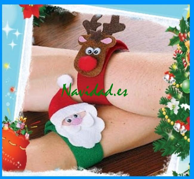 pulsera navideña