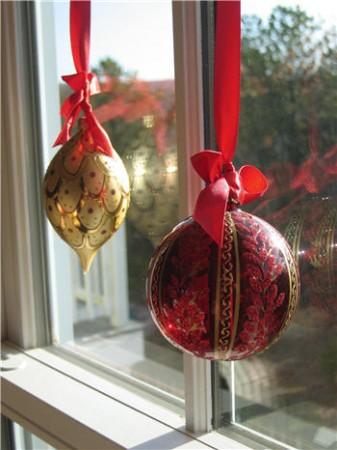 Decora tus ventanas en Navidad 7