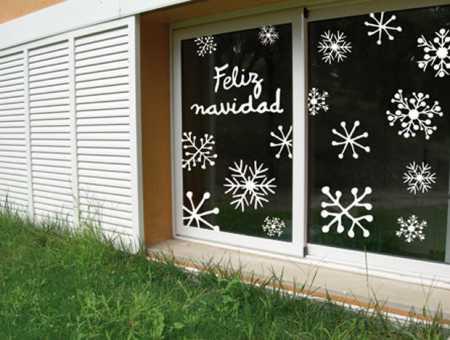 Decora tus ventanas en Navidad 9
