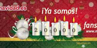 20.000 fans facebook navidad.es