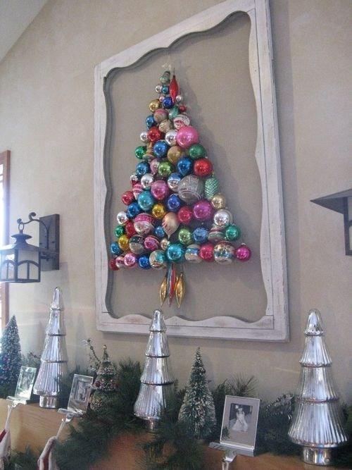 Marcos Para Fotos De Arbol De Navidad.Un Arbol Navideno Con Esferas Navidad Tu Revista Navidena