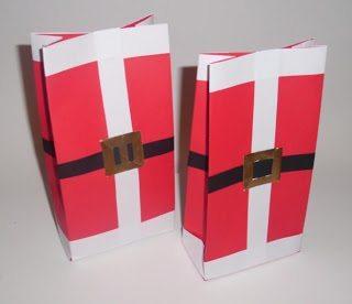 Bolsa navideña para caramelos 3