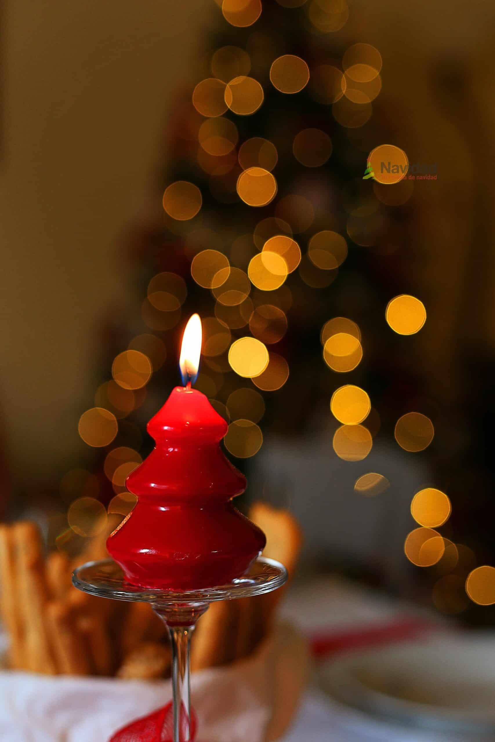 Centros de mesa navideños en rojo 13