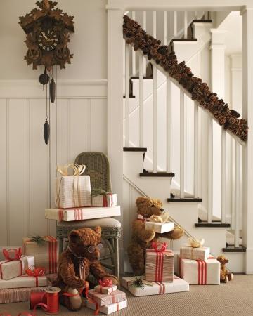 decora escaleras navidad