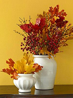 decoración otoño