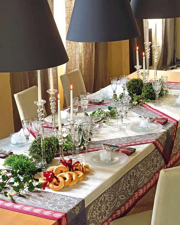decoracion elegante mesa