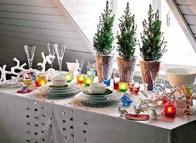 decoracion mesa año nuevo