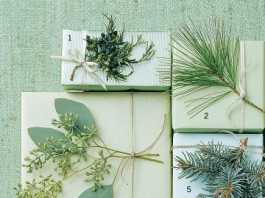 decorar regalos ecologicos